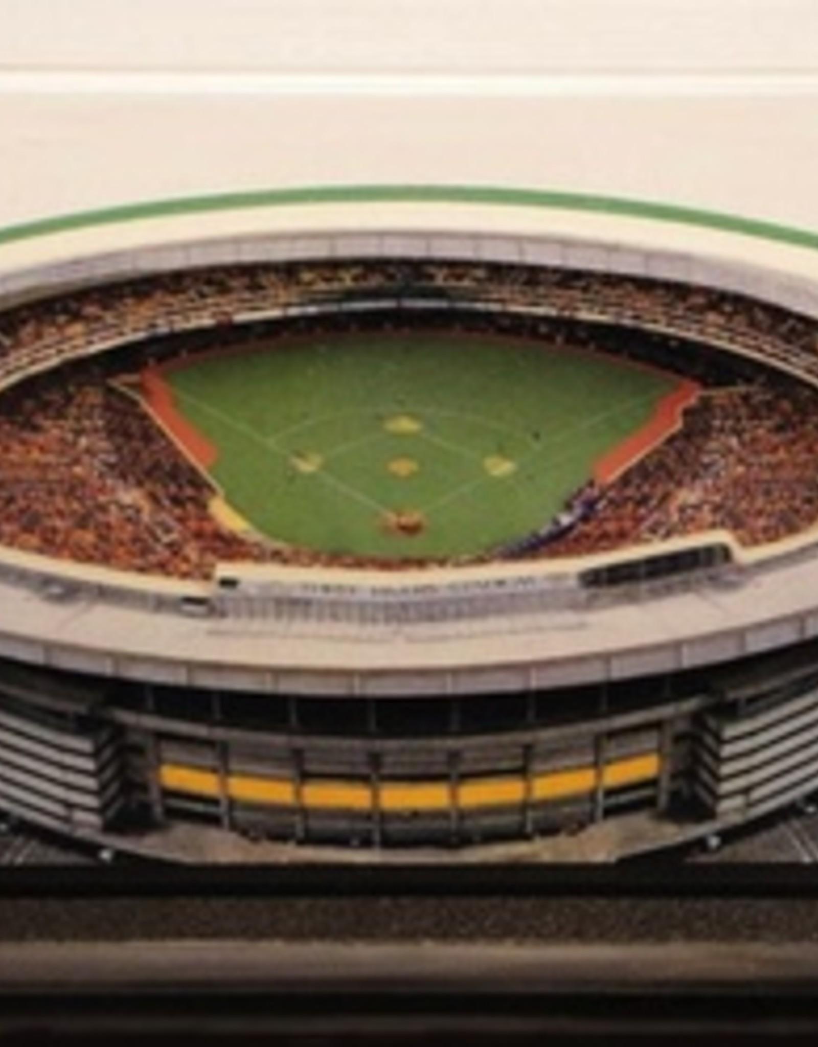 HOMEFIELDS Pittsburgh Pirates 13IN Lighted Replica Three Rivers Stadium (1970-2000)
