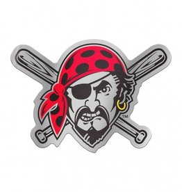 Pittsburgh Pirates Laser Cut Auto Badge Decal