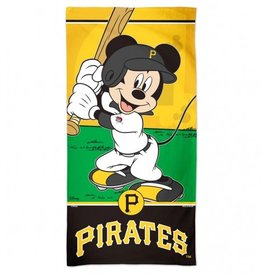 WINCRAFT Pittsburgh Pirates Disney Mickey Mouse Beach Towel