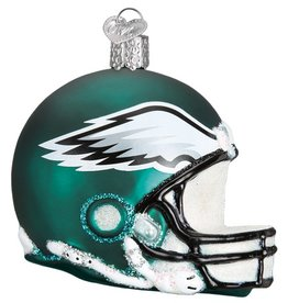 OLD WORLD CHRISTMAS Philadelphia Eagles Helmet Ornament