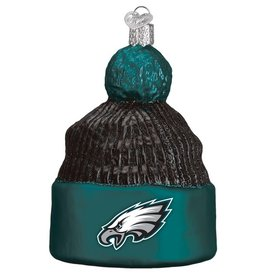 OLD WORLD CHRISTMAS Philadelphia Eagles Beanie Ornament