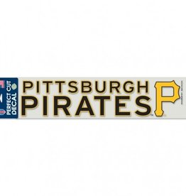 "WINCRAFT Pittsburgh Pirates 4""x17"" Perfect Cut Decals"