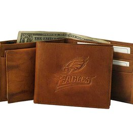 RICO INDUSTRIES Philadelphia Eagles Genuine Leather Vintage Billfold Wallet
