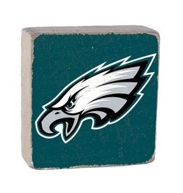 RUSTIC MARLIN Philadelphia Eagles Rustic Wood Team Block