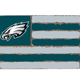 RUSTIC MARLIN Philadelphia Eagles Rustic Team Flag