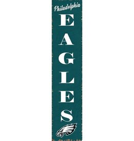 RUSTIC MARLIN Philadelphia Eagles Vertical Rustic Sign
