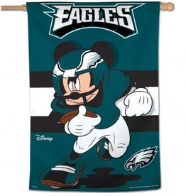 "WINCRAFT Philadelphia Eagles Disney Mickey Mouse 28"" x 40"" House Flag"