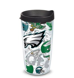 Philadelphia Eagles 16oz Tervis All Over Print Tumbler