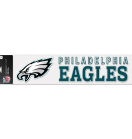 "WINCRAFT Philadelphia Eagles 4""x17"" Perfect Cut Decals"