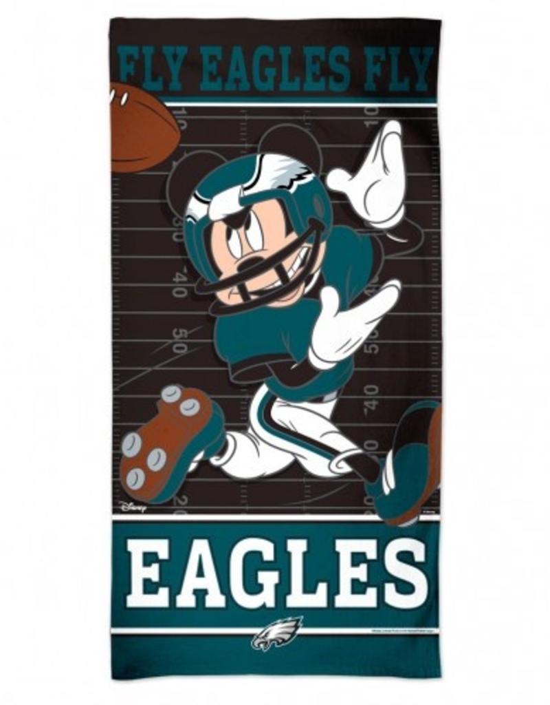 bb3e68b7 WINCRAFT Philadelphia Eagles Disney Mickey Mouse Beach Towel ...