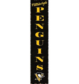 RUSTIC MARLIN Pittsburgh Penguins Vertical Rustic Sign