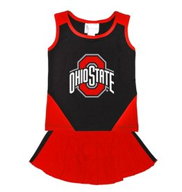 TWO FEET AHEAD Ohio State Buckeyes Cheerleading Top & Skort Set