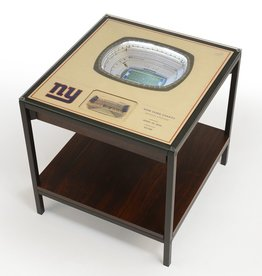 YOU THE FAN New York Giants LED Lighted Stadium View End Table