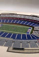 YOU THE FAN Buffalo Bills 5-Layer 3D Stadium Wall Art