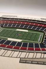 YOU THE FAN Houston Texans 5-Layer 3D Stadium Wall Art