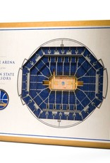 YOU THE FAN Golden State Warriors 5-Layer 3D Stadium Wall Art