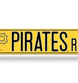 RICO INDUSTRIES Pittsburgh Pirates Plastic Bling Street Sign