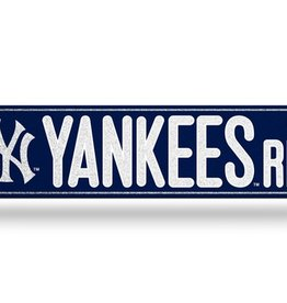 RICO INDUSTRIES New York Yankees Plastic Bling Street Sign