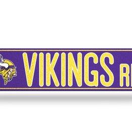RICO INDUSTRIES Minnesota Vikings Plastic Bling Street Sign
