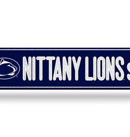 RICO INDUSTRIES Penn State Nittany Lions Plastic Bling Street Sign