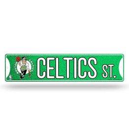 RICO INDUSTRIES Boston Celtics Plastic Bling Street Sign