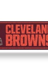 RICO INDUSTRIES Cleveland Browns Plastic Bling Street Sign