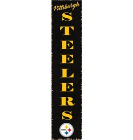 RUSTIC MARLIN Pittsburgh Steelers Vertical Rustic Sign