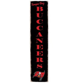 RUSTIC MARLIN Tampa Bay Buccaneers Vertical Rustic Sign
