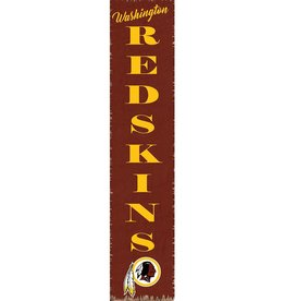 RUSTIC MARLIN Washington Redskins Vertical Rustic Sign