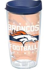 TERVIS Denver Broncos 16oz Tervis Gridiron Print Tumbler