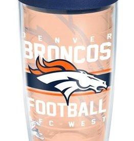 Denver Broncos 16oz Tervis Gridiron Print Tumbler
