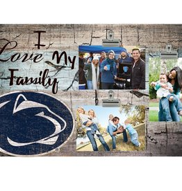 FAN CREATIONS Penn State Nittany Lions Love My Family Photo Clip Frame