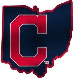 Cleveland Indians State Auto Emblem