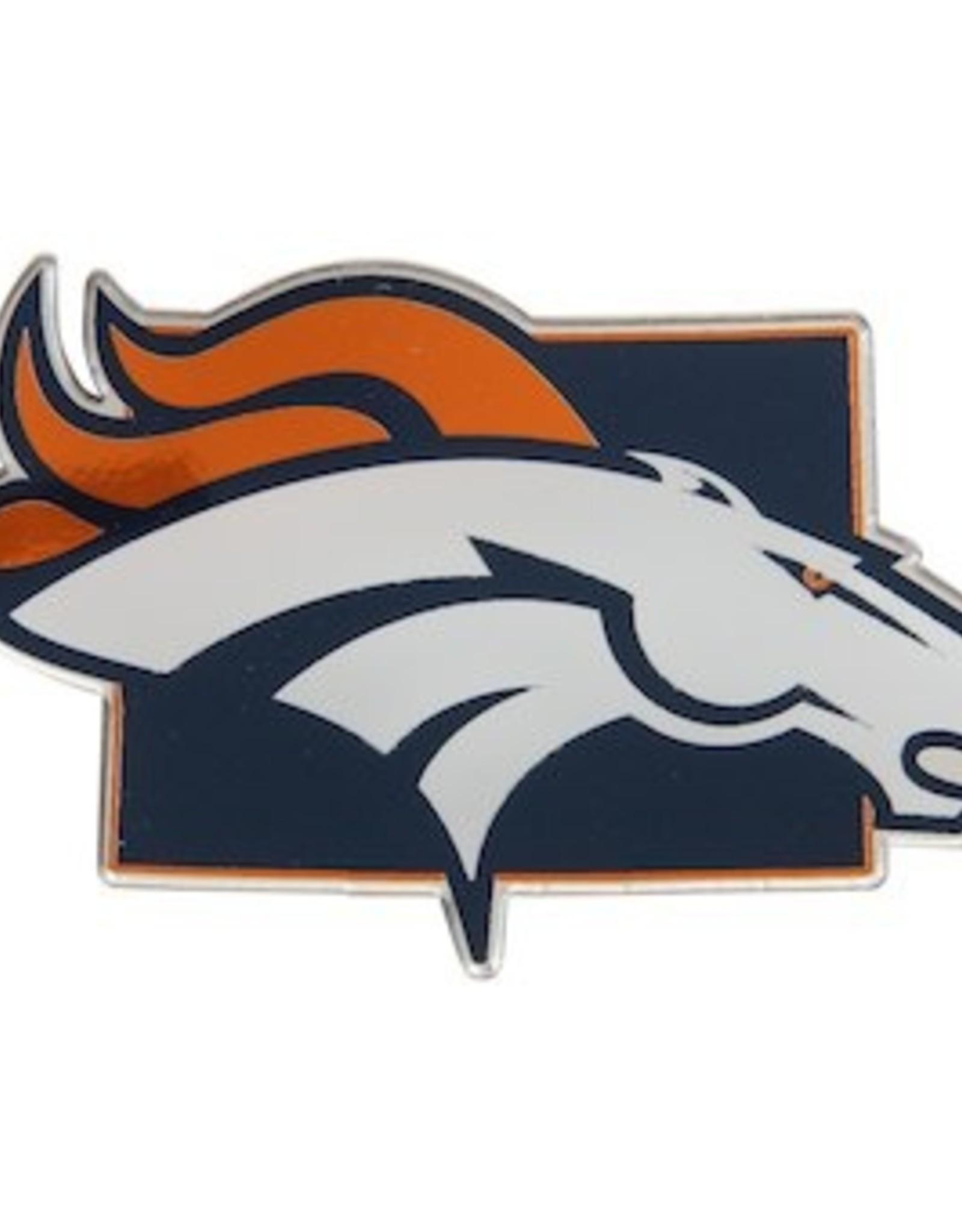 Denver Broncos State Auto Emblem