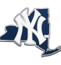 New York Yankees State Auto Emblem