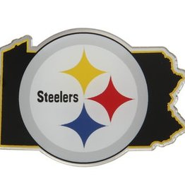 Pittsburgh Steelers State Auto Emblem