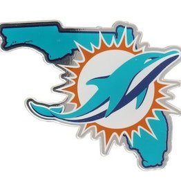 Miami Dolphins State Auto Emblem