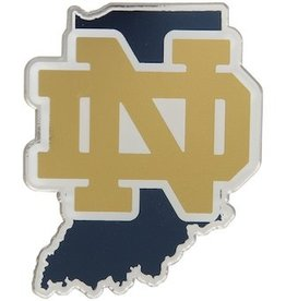 Notre Dame Fighting Irish State Auto Emblem