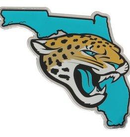 Jacksonville Jaguars State Auto Emblem