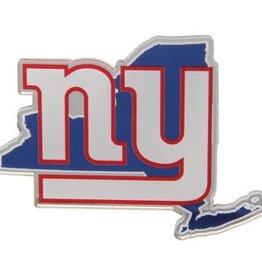 New York Giants State Auto Emblem