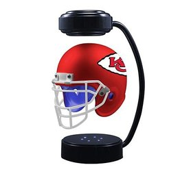HOVER HELMETS Kansas City Chiefs Collectible Levitating Hover Helmet