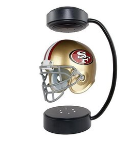 HOVER HELMETS San Francisco 49ers Collectible Levitating Hover Helmet