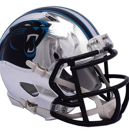 RIDDELL Carolina Panthers Chrome Mini Speed Helmet
