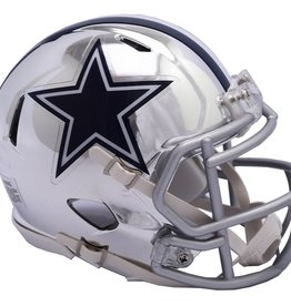 RIDDELL Dallas Cowboys Chrome Mini Speed Helmet