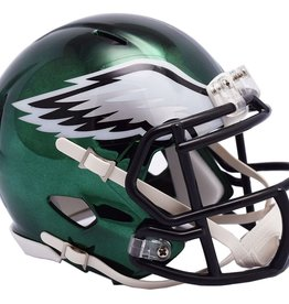 RIDDELL Philadelphia Eagles Chrome Mini Speed Helmet