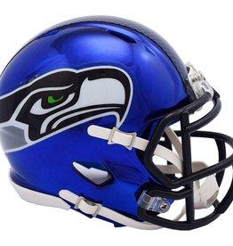 RIDDELL Seattle Seahawks Chrome Mini Speed Helmet