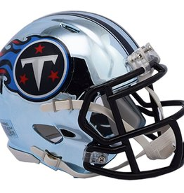 RIDDELL Tennessee Titans Chrome Mini Speed Helmet