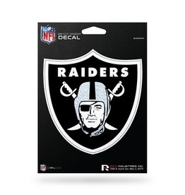 RICO INDUSTRIES Oakland Raiders Die Cut Bling Decal