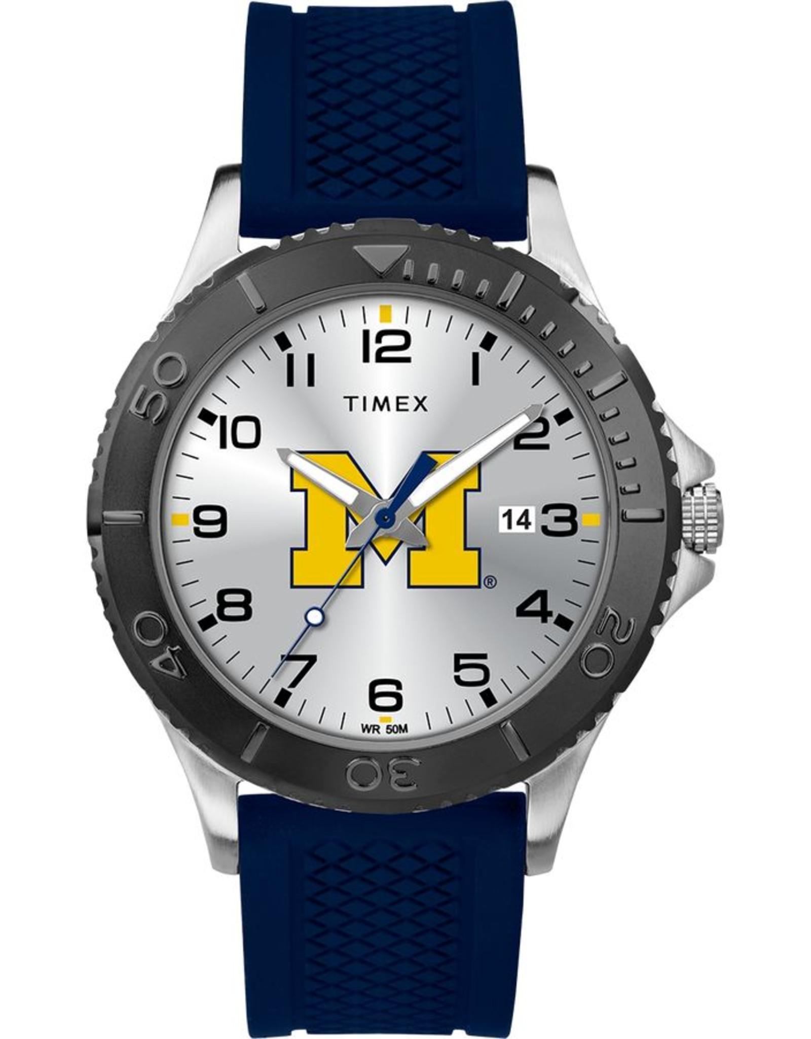 Michgian Wolverines Timex Gamer Watch