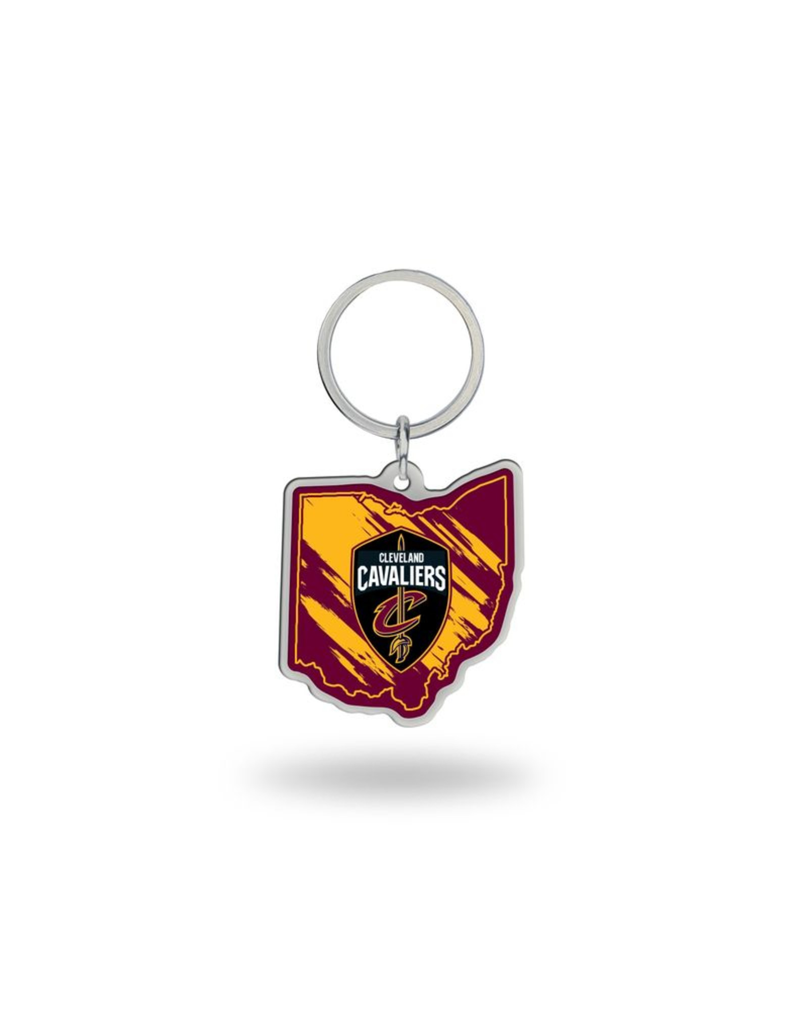 Cleveland Cavliers State Shaped Key Ring